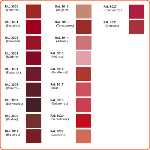Wandfarben Farbpalette Ral : Farbpalette Wandfarben Grau